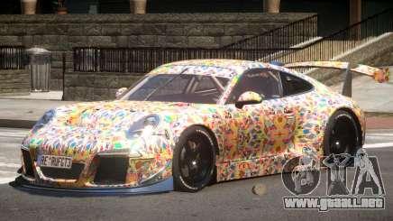 Porsche 911 GT-3 V1.0 PJ5 para GTA 4