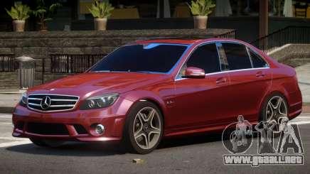 Mercedes Benz C63 AMG V1.1 para GTA 4