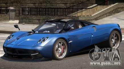 Pagani Huayra GT V1.0 para GTA 4