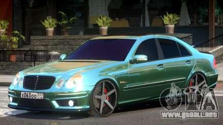 Mercedes E63 V1 para GTA 4