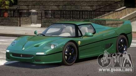 1995 Ferrari F50 V1.1 para GTA 4