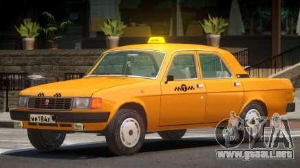 Volga 31029 Taxi V1.0 para GTA 4