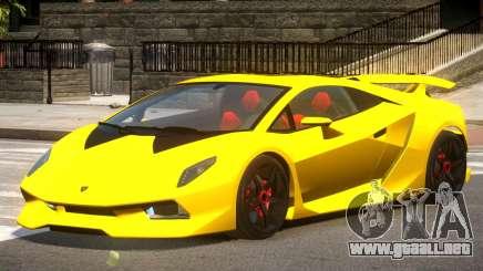 Lamborghini Sesto GT V1.0 para GTA 4