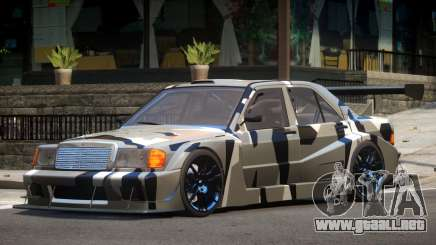 Mercedes 190E Sport PJ4 para GTA 4
