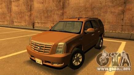 Cadillac Escalade 2007 para GTA San Andreas