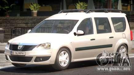 Dacia Logan V1.2 para GTA 4