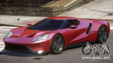 Ford GT Sport V1.0 para GTA 4