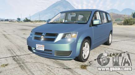 Dodge Grand Caravan SXT (RT) 2008 para GTA 5