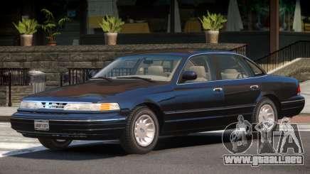 Ford Crown Victoria ST para GTA 4