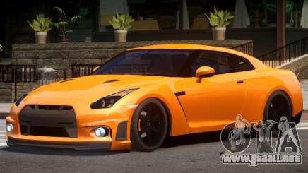 Nissan GT R35 V1.0 para GTA 4