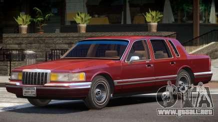 Lincoln Town Car V1.0 para GTA 4
