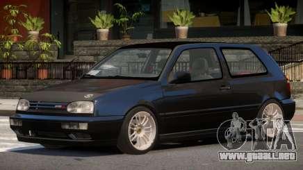 1998 Volkswagen Golf Tuned para GTA 4