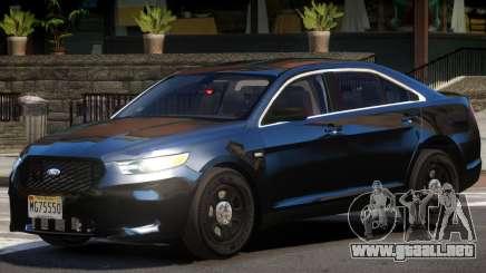 Ford Taurus FBI V1.0 para GTA 4
