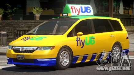Honda Odyssey FlyUS V1.0 para GTA 4