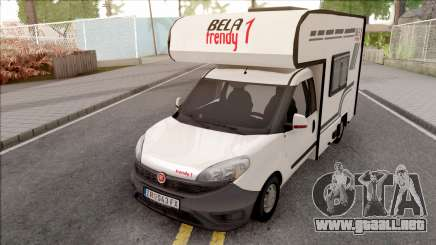Fiat Doblo Mk3 Wohnmobile para GTA San Andreas