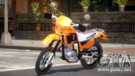 Honda XR 200 ST para GTA 4