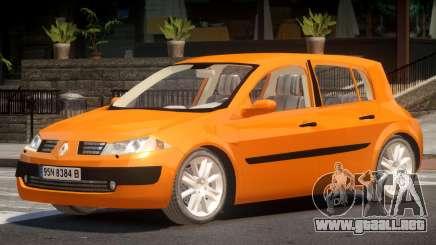 Renault Megane II V1.0 para GTA 4