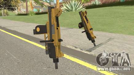 Micro SMG (Luxury Finish) GTA V Flashlight V1 para GTA San Andreas