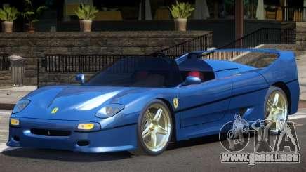 Ferrari F50 RS Roadster para GTA 4