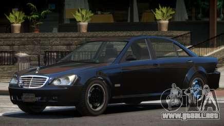 Mercedes Benz W221 Stock para GTA 4