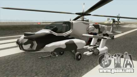 New Hunter Helicopter para GTA San Andreas
