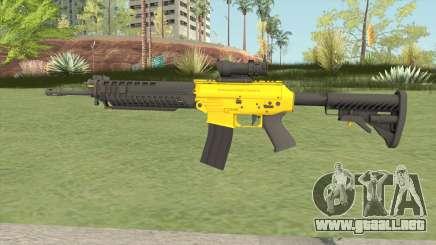 SG-553 Yellow (CS:GO) para GTA San Andreas