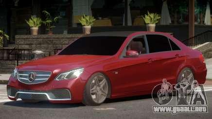Mercedes Benz E63 W212 Tuned para GTA 4