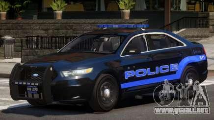 Ford Interceptor Police V1.0 para GTA 4