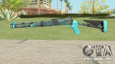 XM1014 Fractal Blue (CS:GO) para GTA San Andreas