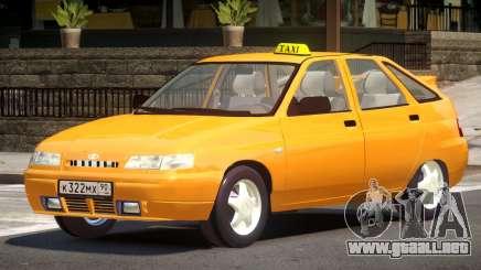 VAZ 2112 Taxi V1.0 para GTA 4