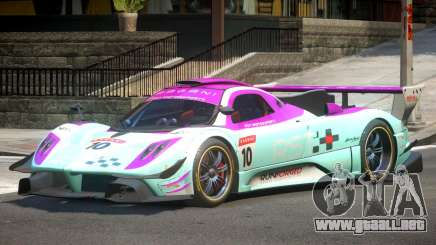 Pagani Zonda GT-R PJ8 para GTA 4