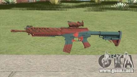 SG-553 Nukestripe Maroon (CS:GO) para GTA San Andreas