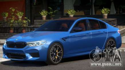 2018 BMW M5 Competition V1.0 para GTA 4