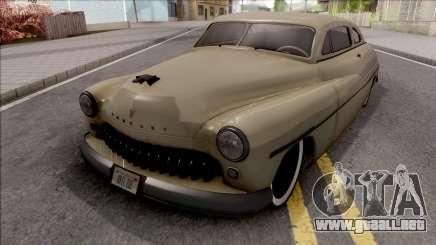 Mercury Coupe Custom 1949 v2 para GTA San Andreas