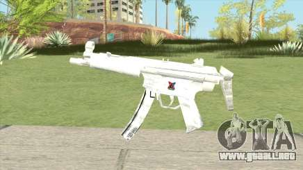 MP5 (White) para GTA San Andreas
