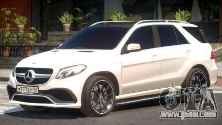 Mercedes Benz ML 63 V1.3 para GTA 4