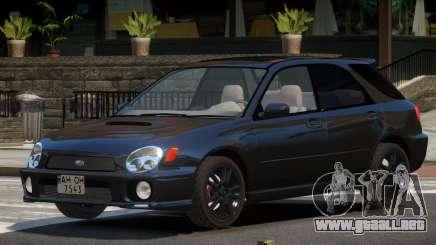 Subaru Impreza STi V1.3 para GTA 4