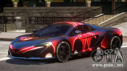 McLaren 650S GT PJ2 para GTA 4