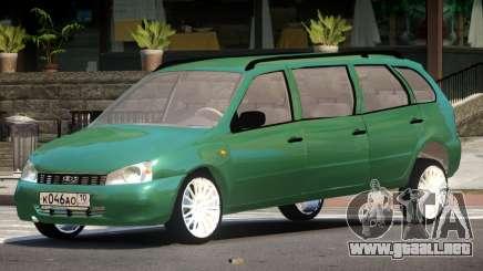 Lada Kalina Custom para GTA 4