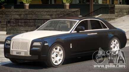 Rolls-Royce Ghost V1.0 para GTA 4