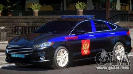 Ford Mondeo Police V1.0 para GTA 4