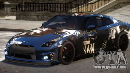 Nissan GT R35 V1.0 PJ3 para GTA 4