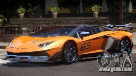 Lamborghini Aventador SVJ 63 para GTA 4