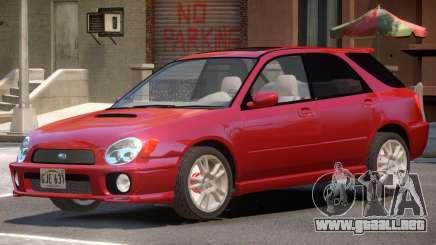 Subaru Impreza ST V1.1 para GTA 4