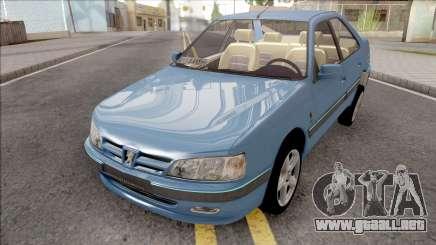 Peugeot Pars Years para GTA San Andreas