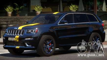 Jeep Grand Cherokee Black Edition para GTA 4