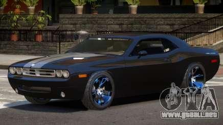 Dodge Challenger Spec V1.0 para GTA 4