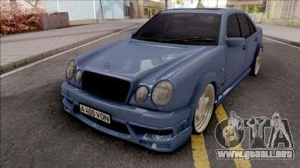 Mercedes-Benz E-class W210 KLEEMANN para GTA San Andreas