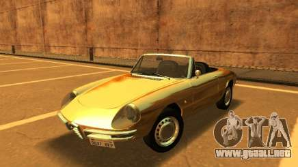 Alfa Romeo Spider Duetto 160 1966 para GTA San Andreas