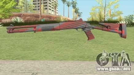 XM1014 Nukestripe Maroon (CS:GO) para GTA San Andreas